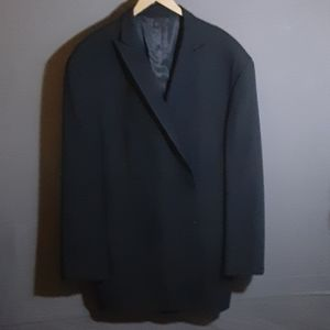 56L Kenneth Cole navy wool blazer